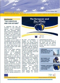 "NEWSLETTER PUBLISHED AS A PART OF ""THE EUROPEAN AND OUR AFFAIRS"" PROJECT"