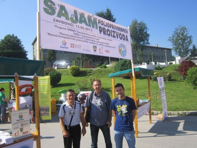 LOCAL AGRICULTURE FAIR HELD IN ZAVIDOVICI