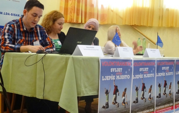 PROJECT DECIDE: LDA ZAVIDOVICI PARTICIPATED TO THE LOCAL EVENT IN SISAK