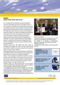"SECOND ISSUE OF NEWSLETTER PUBLISHED AS A PART OF ""THE EUROPEAN AND OUR AFFAIRS"" PROJECT"