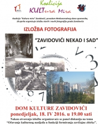 ZAVIDOVIĆI THEN AND NOW-PHOTO EXHIBITION