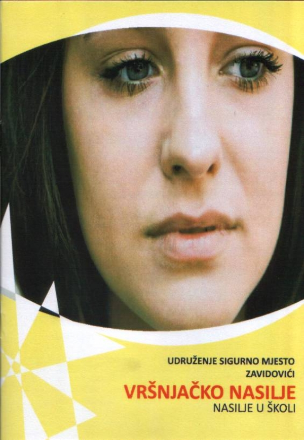 "A brochure about bullying published by the Association ""Sigurno mjesto"""