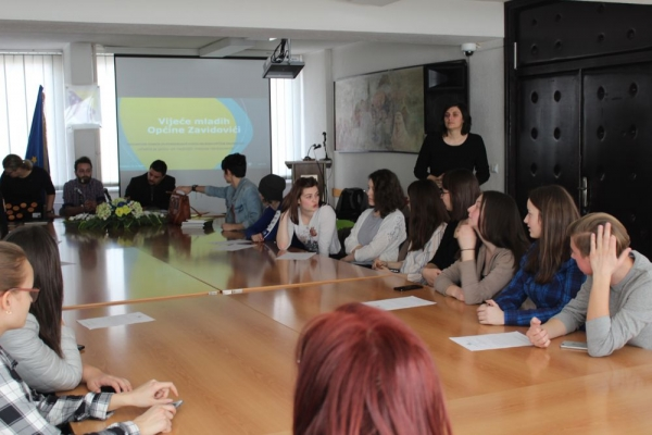 "YOUTH TAKING OVER DAY: ""YOUTH COUNCIL'S ROLE, LEGAL FRAMEWORK AND YOUTH POLICIES"""